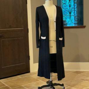 Ann Taylor duster cardigan